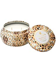Voluspa Prosecco Bellini 2 Wick Maison Metallo Candle 11 oz