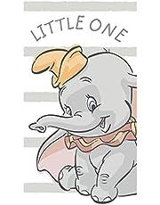 Jerry Fabrics Disney Dumbo słoń ręcznik plażowy ręcznik kąpielowy 70 cm x 140 cm