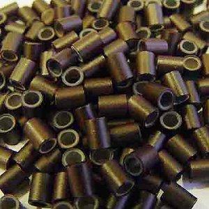 HAIR DE VILLE 500 PCS 3.5 mm Silicone Lined Copper Micro Tub