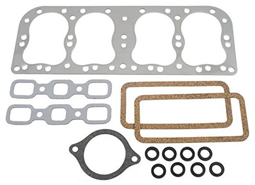 3A40HSM Upper Gasket Kit w/Metal Head Made To Fit Ford/New Holland 2N 8N 9N Tractor VG8NM by RAPartsinc