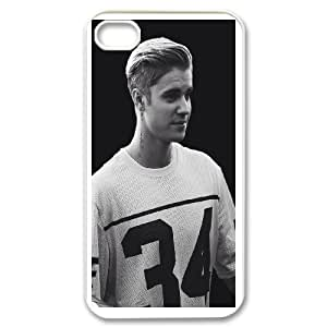 Fashionable Case Justin Bieber for iPhone 4,4S WASXL8401269