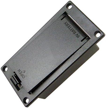 Guitarra Accesorios 9V batería titular caso caja cubierta para ...