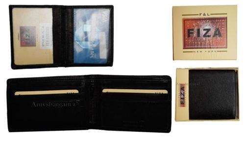2 Pocket Box Lot BN Bifold in of 9 Wallet Black 2 Leather Tan Dark Zip Card 2 Billfold Men's ID PfXqIaRn