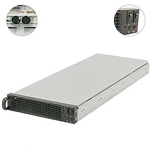 Cablematic–ATX 1U caja de rack para F5452x 3.5-ck82CK81de RackMatic