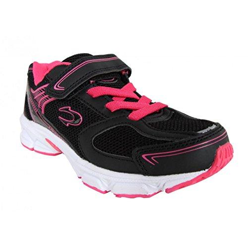Chaussures de sport pour Garçon et Fille et Femme JOHN SMITH ROXI 15I NEGRO-FUCSIA