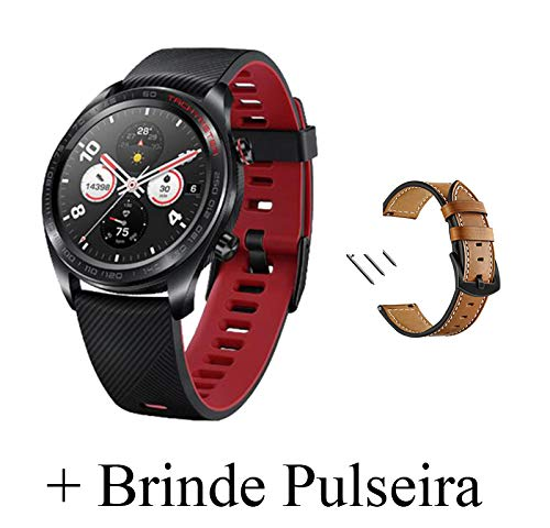 Huawei Honor Watch Magic Smart Watch,Cimaybeauty Silicone Strap Wristband,Multiple Sports Modes,Heart Rate Monitor,All-Day Pressure Manager,Alipay/NFC Bus Card Payment