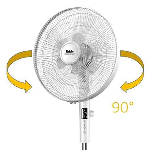 Fakir vc46 S Stand Ventilateur Avec Télécommande Noir