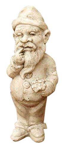 (OrlandiStatuary FS8075-EAT Gnome Thinker, 12