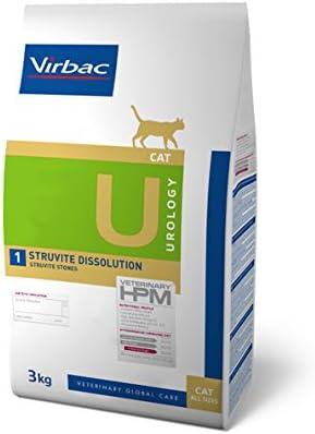 Virbac Veterinary Hpm Vet Urology Sd Cat Bag 3 Kg Amazon Co Uk Pet Supplies