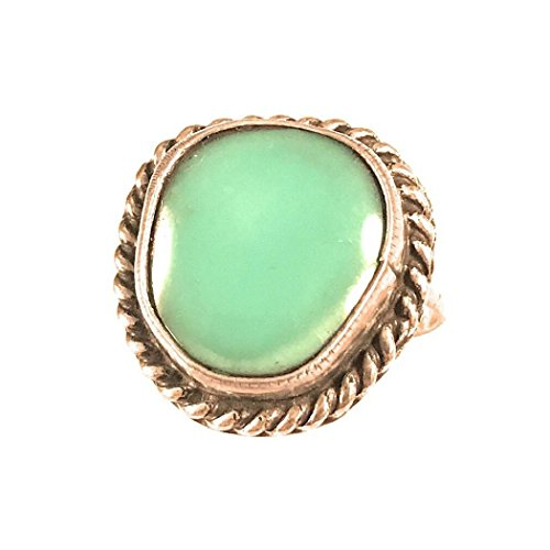 Vintage Navajo Turquoise Sterling Silver Ring Size 4
