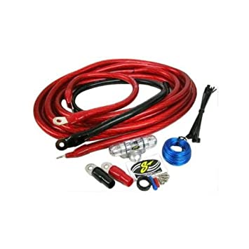 stinger 8 gauge 600 watt power amplifier wiring kit sports rh amazon ca