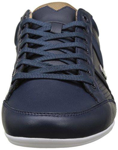 Lacoste Men's Chaymon 117 1 Cam NVY Low, Blue Blue (Nvy)