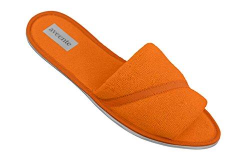 aveente - Zapatillas de estar por casa para mujer naranja