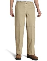 Men's Loose Fit Double Knee Work Pants
