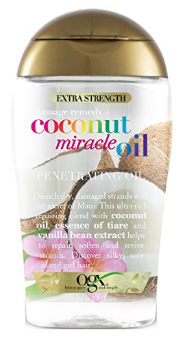 Ogx Coconut Miracle Oil Penetrating 3.3 Ounce X-Strength