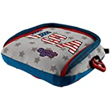 BubbleBum Backless Booster Car Seat, Stars & Stripes