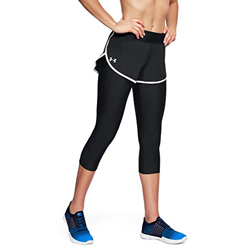 Under Armour Women's Armour Fly Fast Shapri, Black (001)/Reflective, X-Large