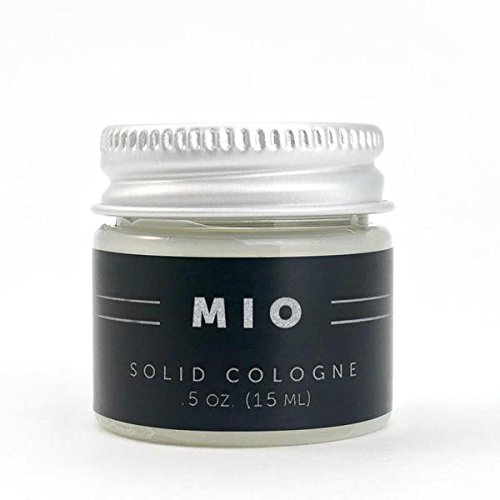 (0.5oz Mio Solid Cologne - Lime and Vetiver Scented - Detroit Grooming Co.)