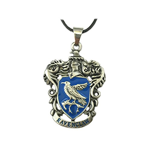 Harry Potter Ravenclaw House Crest Movie Costume Cosplay Necklace Pendant by Athena Brands -