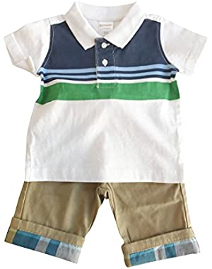 Baby Boy Infant and Toddler Pants Clothing Sets
