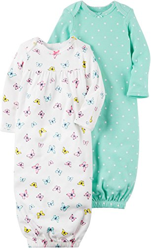 Carter's Baby Girls' 2-Pack Floral Gown Set 3 Months by Carter's