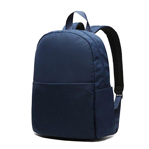 Mochila de nylon a prueba de agua/estudiante de mochilas para hombres y mujeres/Bolso de escuela/Bolsa de ocio-A A