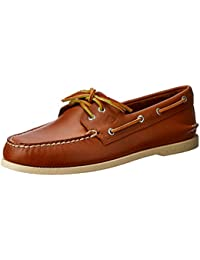 A/O 2-Eye Boat Shoe Tan - Tan - 9