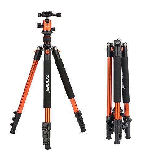 ZOMEi Q555 Lightweight Alluminum Alloy Camera Tripod with 36