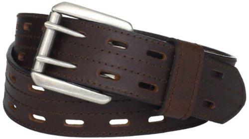 Danbury Work Wear Men's Double Prong Belt, Brown, 40