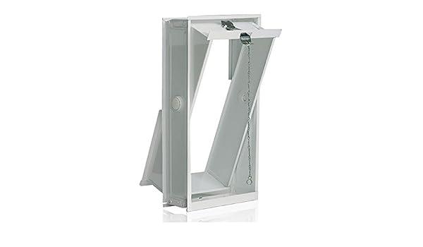Ventana oscilobatiente: para el montaje en la pared de bloques de vidrio para 2 bloques de vidrio 24x24x8 cm: Amazon.es: Bricolaje y herramientas
