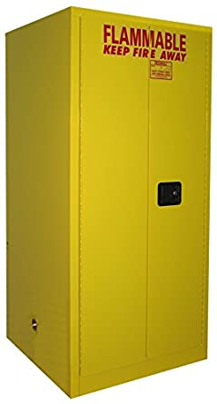 SECURALL V160 Flammable Drum Storage Cabinet 60 Gallon Cap 18-Gauge Steel & SECURALL V160 Flammable Drum Storage Cabinet 60 Gallon Cap 18 ...