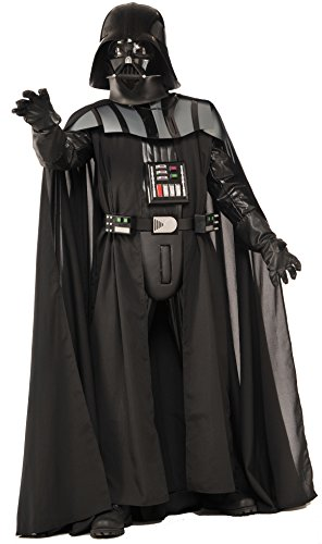Rubie's Costume Men's Star Wars Collector Supreme Edition Darth Vader Costume, Black, Standard