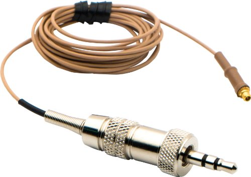 Headset Isomax Countryman (Countryman IsoMax E6 Replacement Cable - Tan, 2mm Cable)