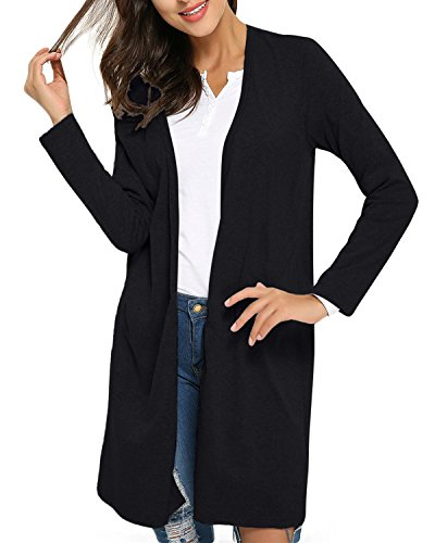 StyleDome Tops Gilet Manches Femme Irr Longue n767Pa