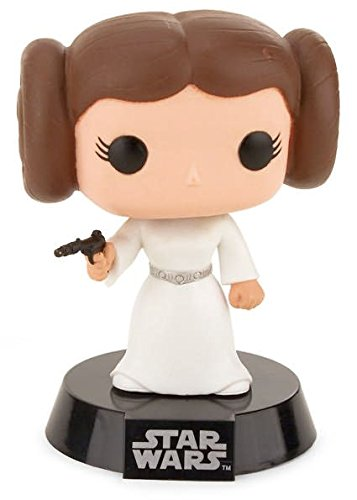 Funko POP Movie: Star Wars Princess Leia Bobble Head Vinyl (Retro Bobble Head)