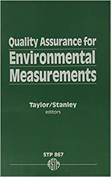 Book Quality Assurance for Environmental Measurements: A Symposium (Astm Special Technical Publication)