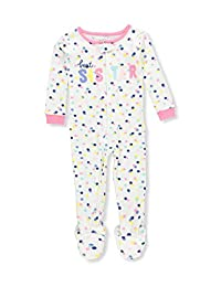 Carter's Girls' Footed Pajamas