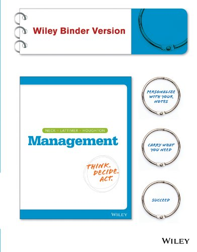 Management, Binder Ready Version: A Balanced Approach to the 21st Century