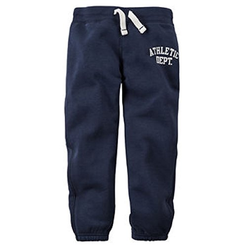Carters Fleece Sweatpant (Carter's Baby Boys' Fleece Jogger Sweatpants (3m, navy))