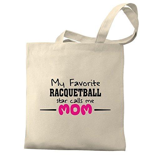 calls My Racquetball favorite star mom Bag Tote Canvas Eddany me ESIqwqd