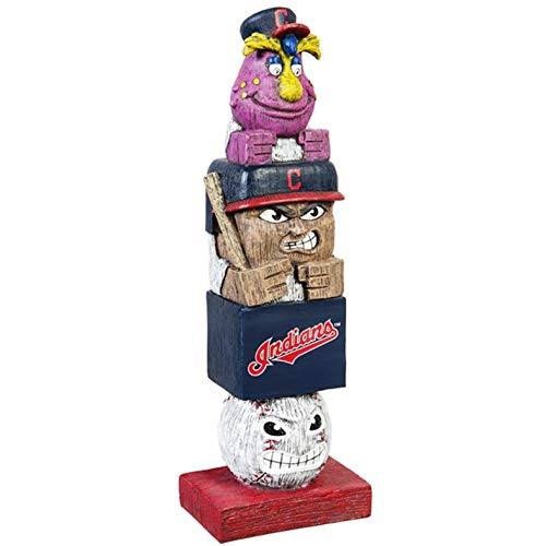 Rico Industries, Inc. Cleveland Indians Tiki Totem Pole 16