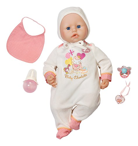 Amazon Zapf Baby Annabell Baby Charlotte Doll Toys Games