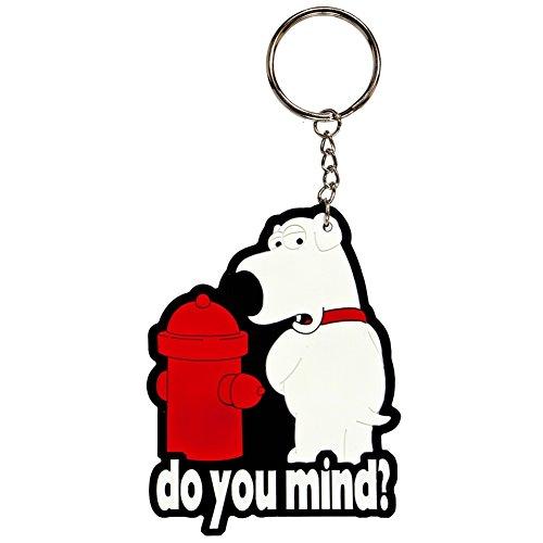 Family Guy Keychain (Family Guy - Do You Mind Keychain)