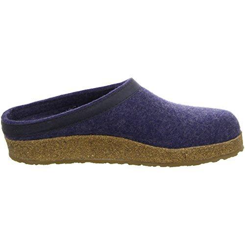 Haflinger 713001 Slippers, Filztoffel Grizzly Torben, Jeans, Gr 50 by Haflinger (Image #9)