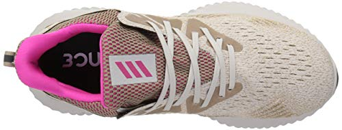 adidas Men's Alphabounce Beyond Running Shoe, Chalk Pearl/Shock Pink/Trace Khaki, 7 M US by adidas (Image #8)