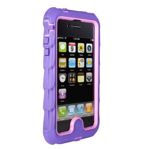 Gum Drop Apple iPhone 4 iPhone 4s Drop Tech Purple Gumdro...