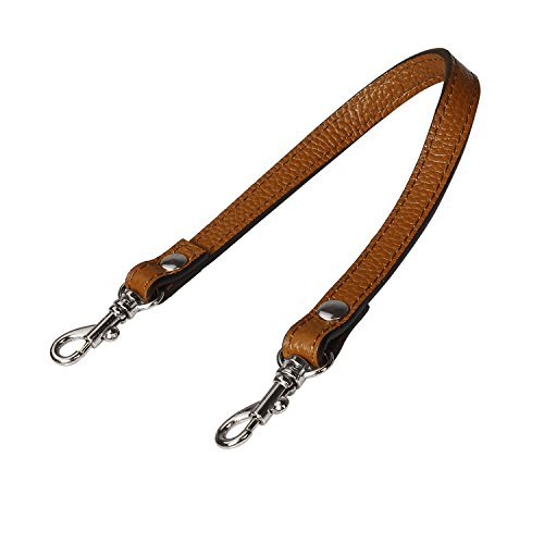 yChain Leather Hand Strap with 2 Silver Locks(Brown) ()