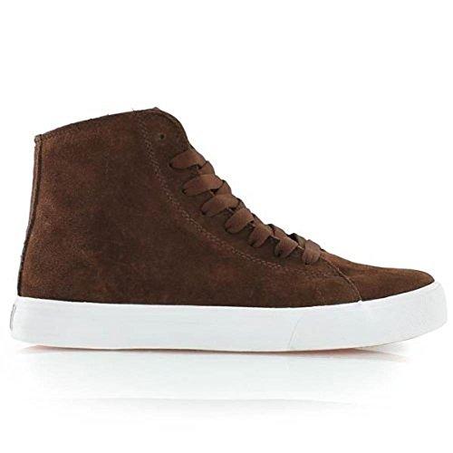 SUPRA Skateboard Styler Shoes Thunder High Brown Suede, Schuhgrösse:42.5