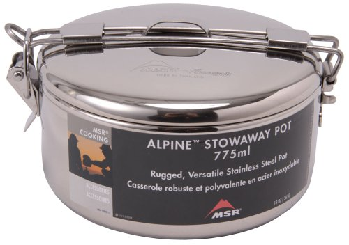 MSR Alpine Stowaway Pot, 775 mL (Cookware Msr Camping)