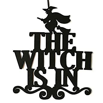 Amazon.com: SUNyongsh The Witch is in Halloween - Cartel ...